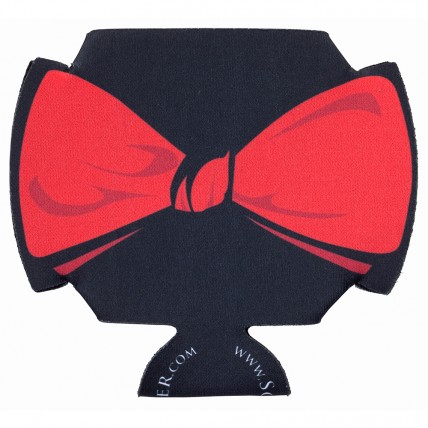 Red Bowtie Coozie